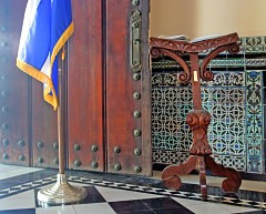 Puerta Principal, cortesía de Jim Austin